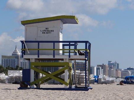 Miami, Florida, Sun, Heat, Beach, South Beach