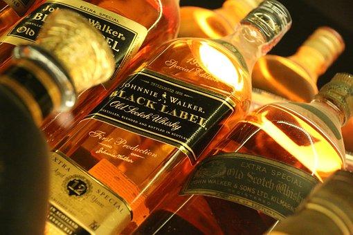 Whiskey, Alcohol, Edinburgh, Scotland, Travel, Europe