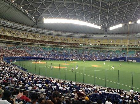 Baseball, Game, Watch, Support, Fan