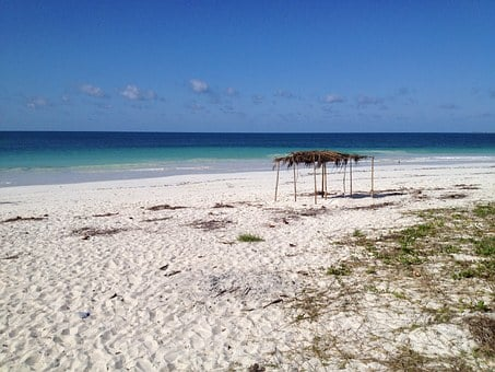 Mozambique, Beach, Ocean, Africa, Bay, Water, Mar