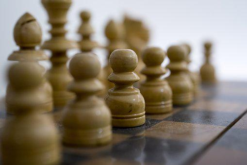 Chess, White, Game, Board, Strategy, Competition