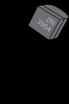 Transitsor, Tht Transistor, Electronics, Bjt, 2n3904
