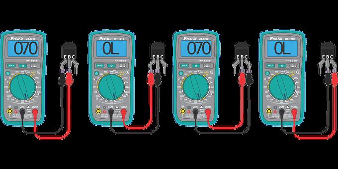 Transistor Checking, Digital Multimeter, Multimeter