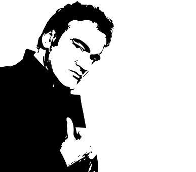 Tarantino, Celebrity, Director, People, One, Portrait