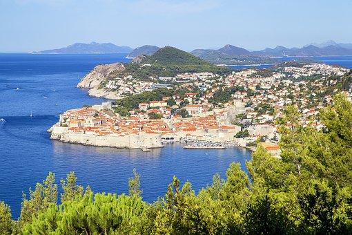 Dubrovnik, Croatia, City, Tourism, Dalmatia, Europe