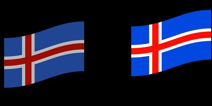 Iceland, Icelandic, Nordic, Flag, Country