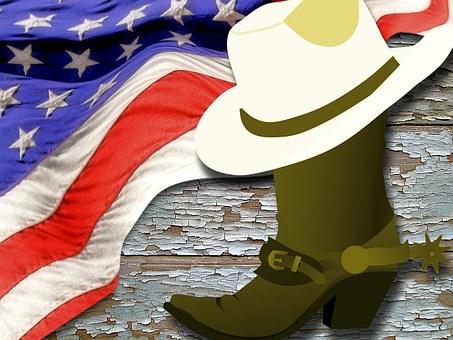 Flag, Wood, Usa, American, Banner, Decoration, America