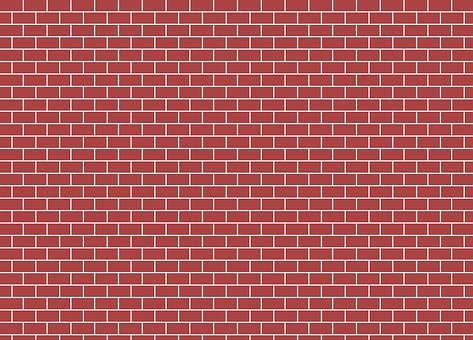 Bricks, Red, Walls, Buildings, Flat