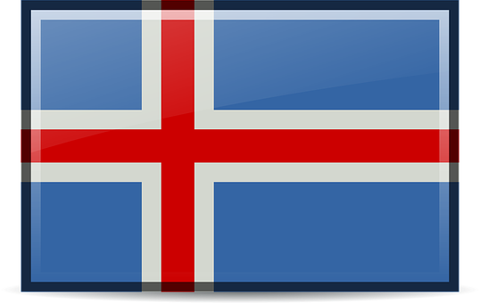 Flag, Iceland, Icons, Rodentia Icons