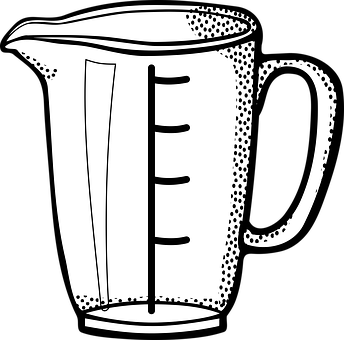 Cup, Kitchen, Liter, Litre, Measuring, Measuring Cup