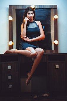 Model, Fashion, Indian, Girl, Woman, Makeup, Portrait