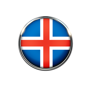 Iceland, Flag, Europe, National, Country, Nation