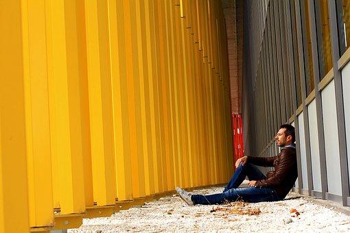 Man, Sitting, Street, Sit, People, Young, Entrepreneur