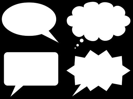 Bubble, Tags, Form, Drawing, Speech, Cloud, Design