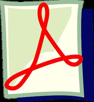 Pdf, File, Adobe, Icon, Symbol, Red, Concept, Mime Type
