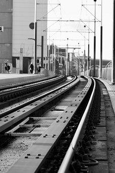 Rails, Train, Metro, Railway, Transport, Railways
