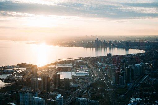 Buildings, City, Cityscape, Skyscraper, Toronto, Canada