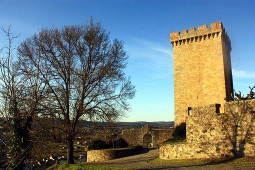 Castle Of San Vicente, Monforte De Lemos, Lugo, Galicia