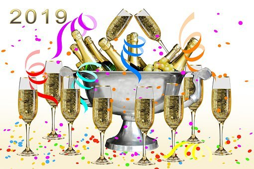 New Year's Eve, New Year's Day, 2019, Sylvester