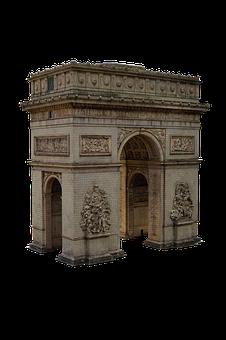 Arc De Triomphe, Paris, Champs-Elysees