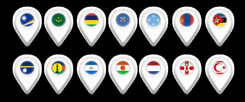 Map, Maps, Geolocation, Pin, Marshall Islands