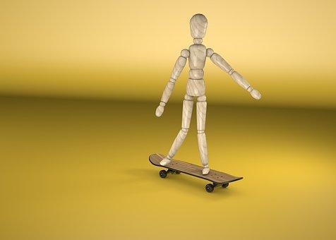 Skate Board, Sport, Skater, Skating