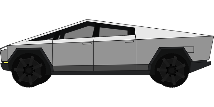 Tesla, Cybertruck, Electric Car, Vehicle, Cyberpunk