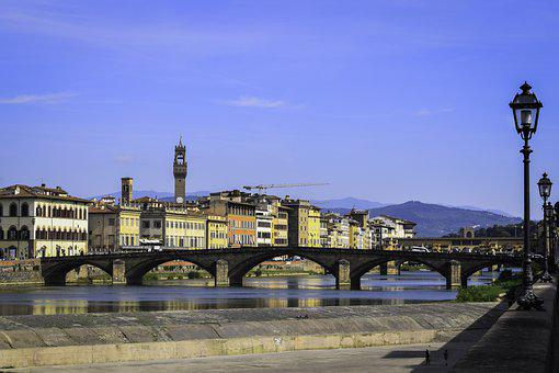 Arno, River, Florence, Tuscany, City