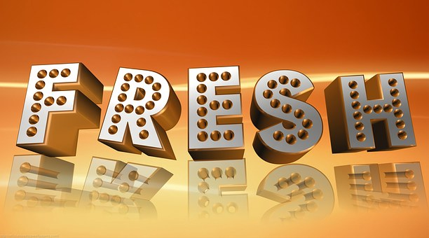 Fresh, Banner, Orange, Cover Page, Header, Fun, Logo