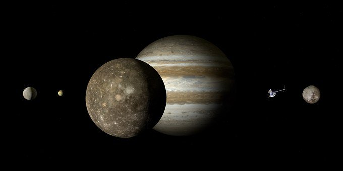 Jupiter, Callisto, Jupiter Moon, Moon