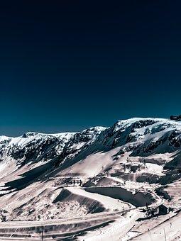 Mountain, Snow, Winter, Mountains