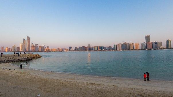 Abu Dhabi, Abu Dhabi Skyline, Skyline, City, Abudhabi