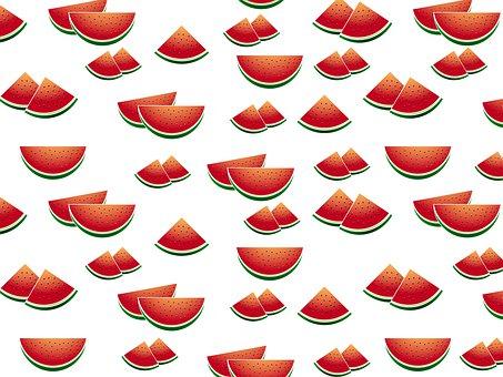 Summer Watermelon Pattern, Watermelon Pattern