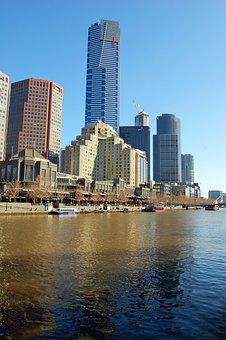 Melbourne, Eureka Tower, Yarra River, Skyscraper, City