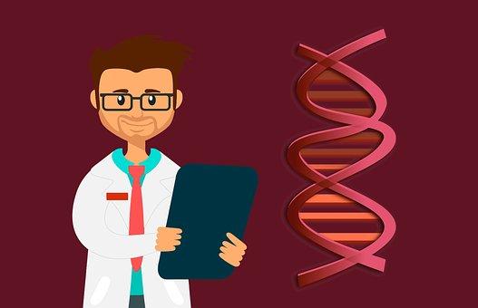 Dna, Doctor, Lab, Helix, Biology, Genetic, Code