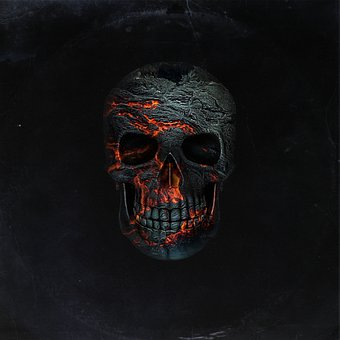 Cd Cover, Skull, Death, Design, Dark, Fantasy, Scary