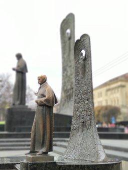 Lviv, Ukraine, Statue, City, Travel, Europe