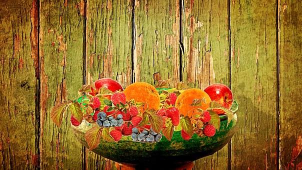 Fruit, Fruit Bowl, Fruits, Still Life
