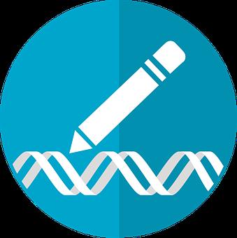 Gene Editing Icon, Crispr Icon