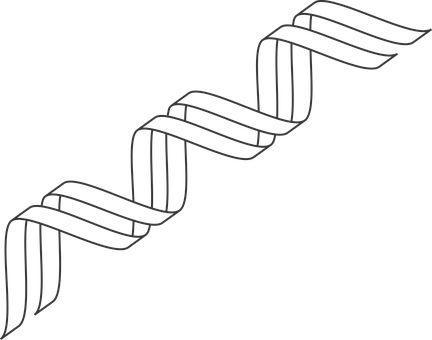 Gene Outline, Dna, Icon, Dna Icon, Double Helix