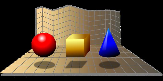Solids, Figures, Geometric, Geometry, Math, Mathematics