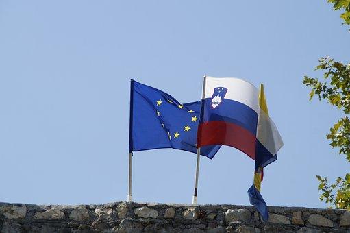 Slovenia, Eu, Europe, Land, State, Flags, Nation