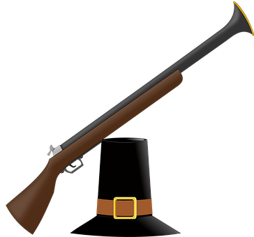 Musket, Weapon, Arms, Hunting, Hat