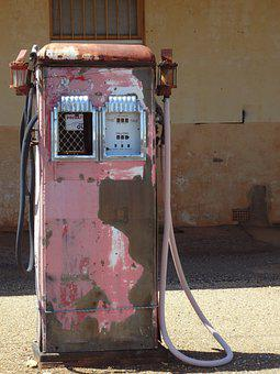Old Pump, Fuel, Petrol, Gas, Vintage, Old, Refuel, Pump