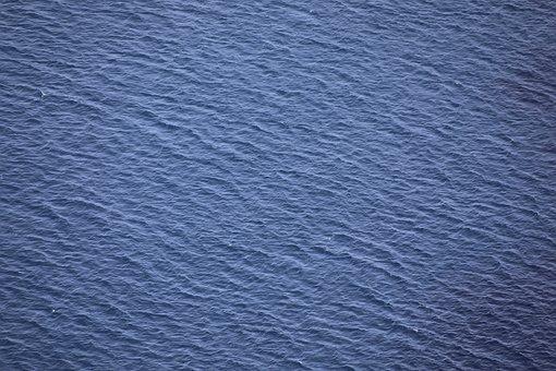 Water, Sea, Sea Surface, Wave, Spray, Blue