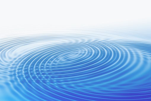 Wave, Concentric, Waves Circles, Water