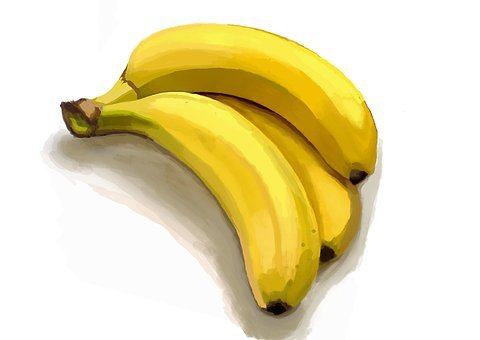 Banana, Bananas, Yellow, Nature, Fruit, Tropical Fruit
