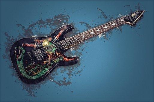 Guitar, Instrument, Music, Electro Guitar, Esp