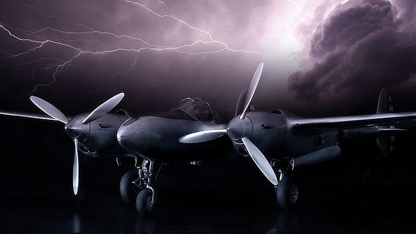 P38 Lightning, Model, Thunderstorm