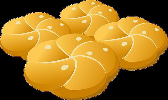 Buns, Bread, Bakery, Breakfast, Wheat, Pastry